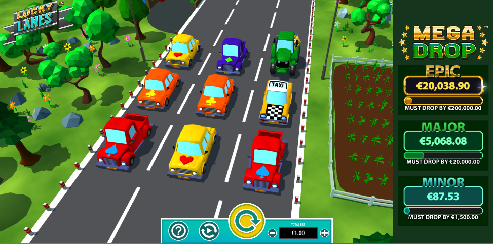 lucky lanes screenshot
