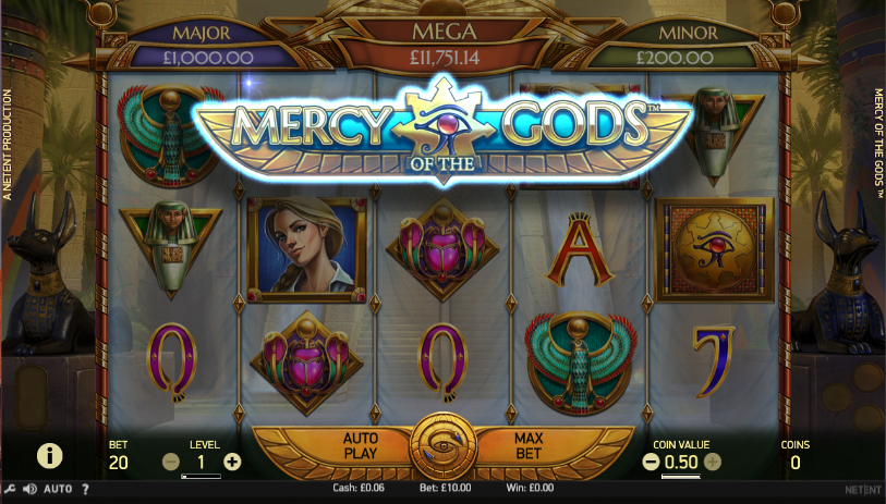 mercy of the gods screenshot