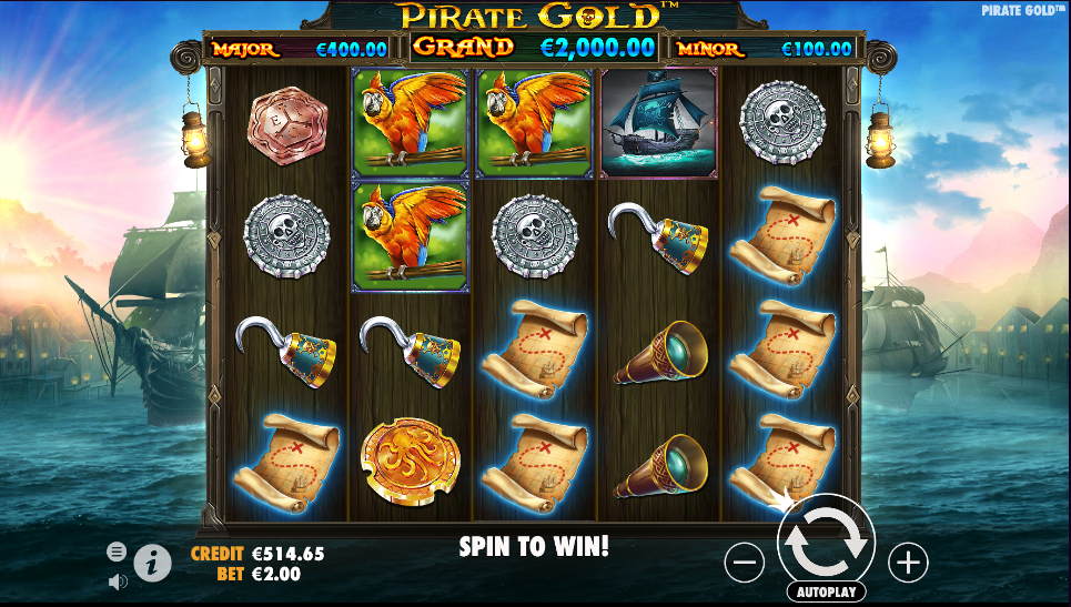 pirate gold screenshot