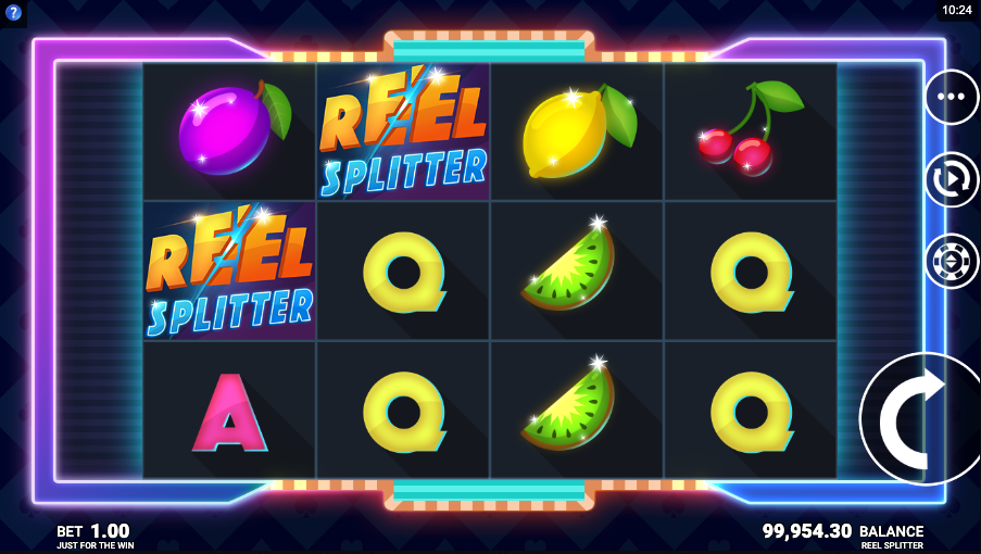 reel splitter screenshot