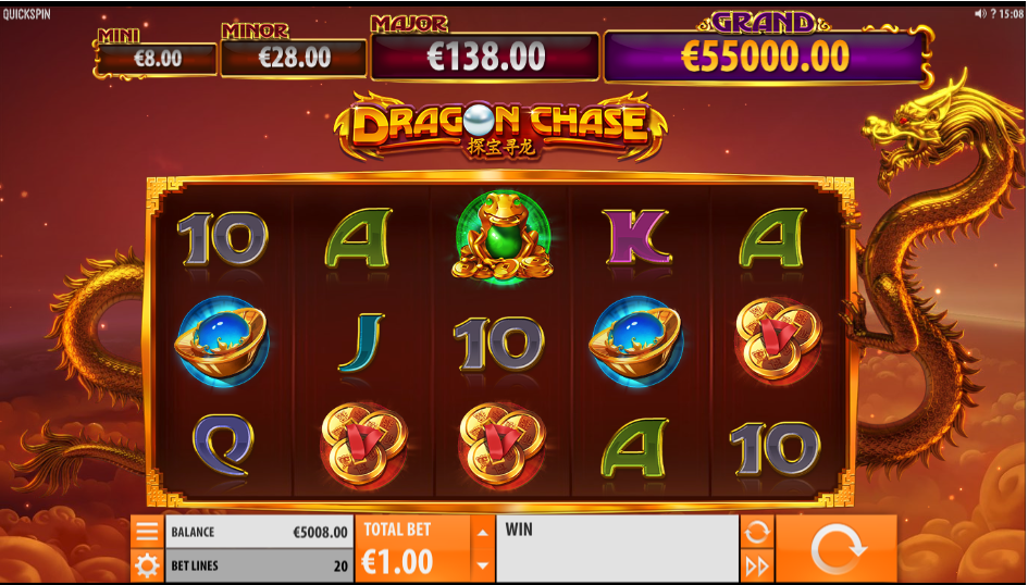 dragon chase screenshot