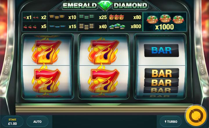 emerald diamond screenshot