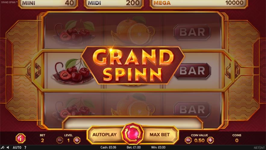 grand spinn screenshot