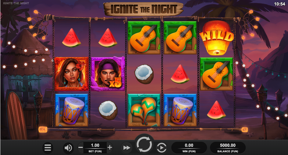 ignite the night screenshot