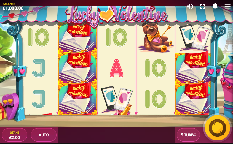 lucky valentine screenshot