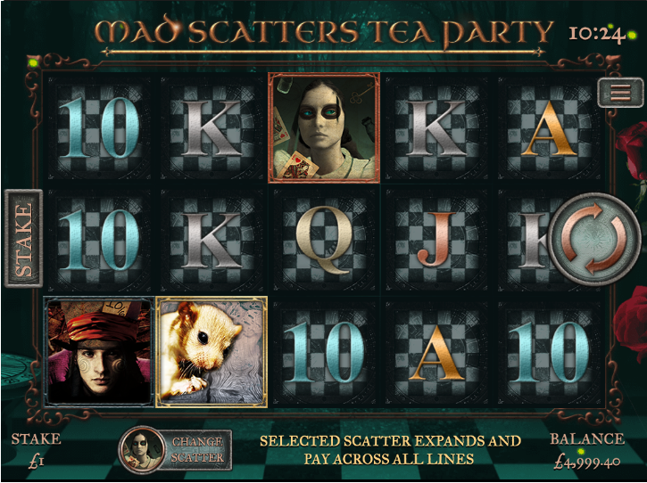 mad scatters tea party screenshot