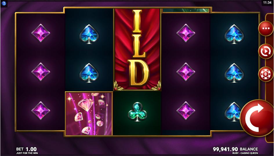 ruby casino queen screenshot