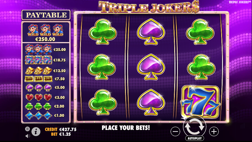 triple jokers screenshot
