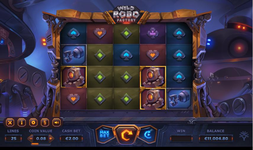 wild robo factory screenshot