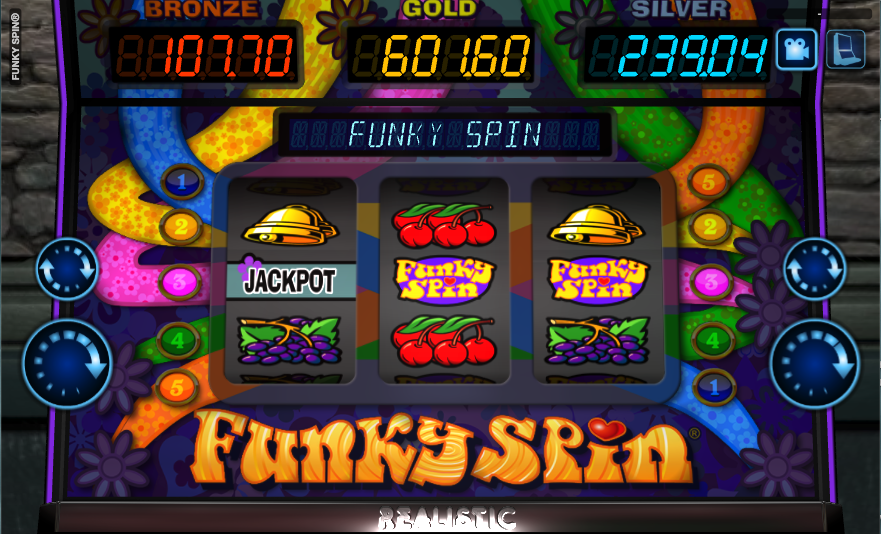 funky spins screenshot