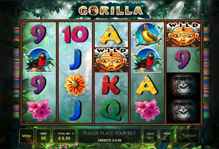 gorilla screenshot