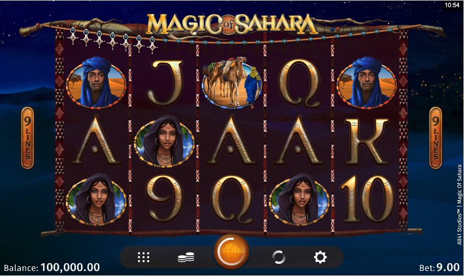 magic of sahara screenshot