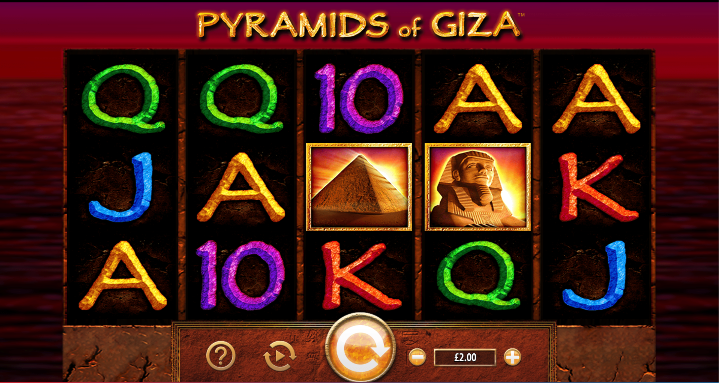 pyramids of giza screenshot