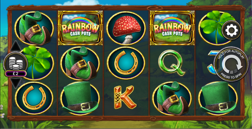 rainbow cash pots screenshot