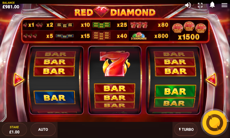 red diamond screenshot