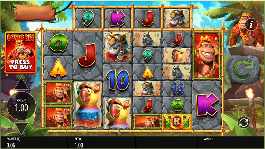 return of kong megaways screenshot