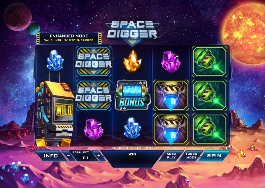 space digger screenshot