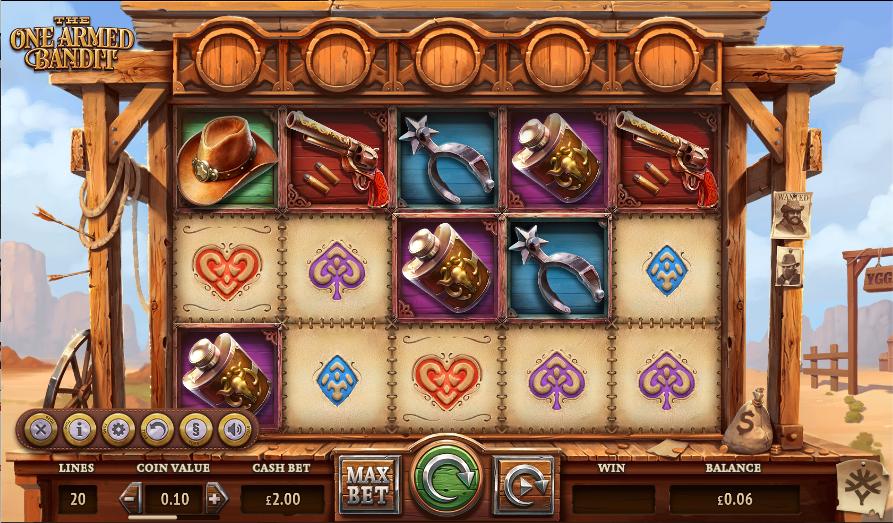 the ne armed bandit screenshot