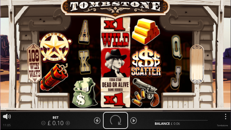 tombstone screenshot