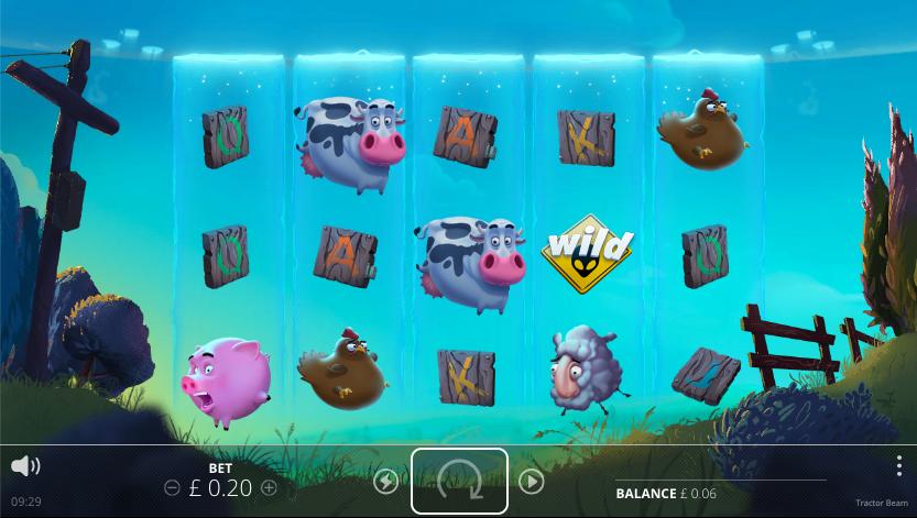 tractor beam screenshot