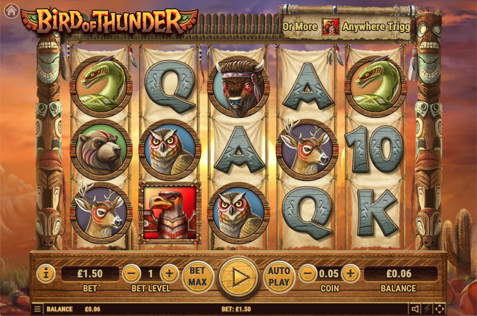 bird of thunder screenshot