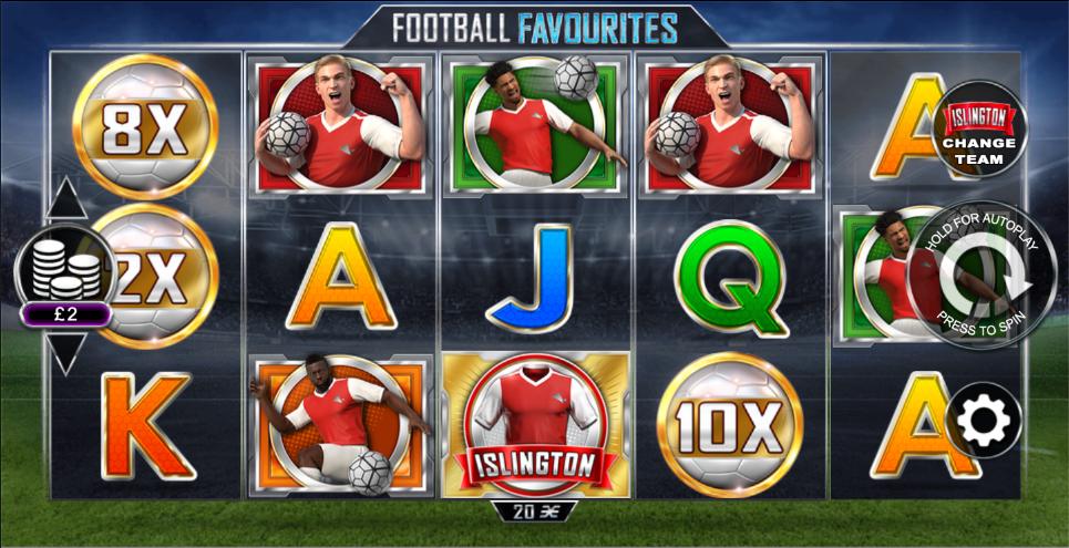 football favourites screenshot