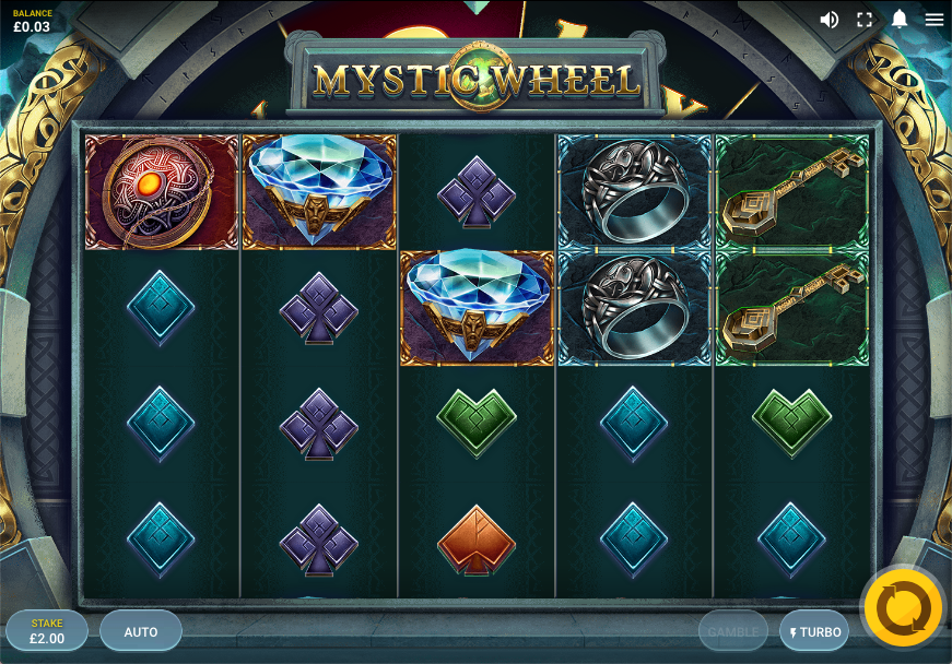 mystic wheel screenshot
