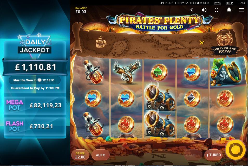 pirates plenty battle for gold screenshot