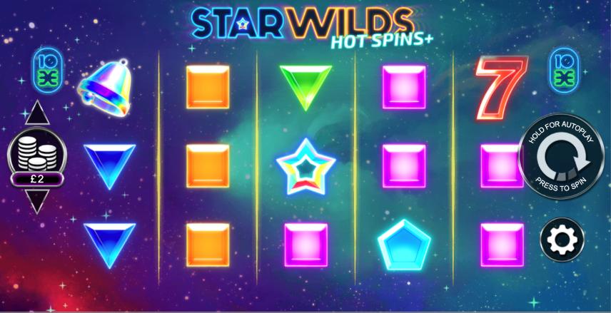 star wilds hot spins screenshot