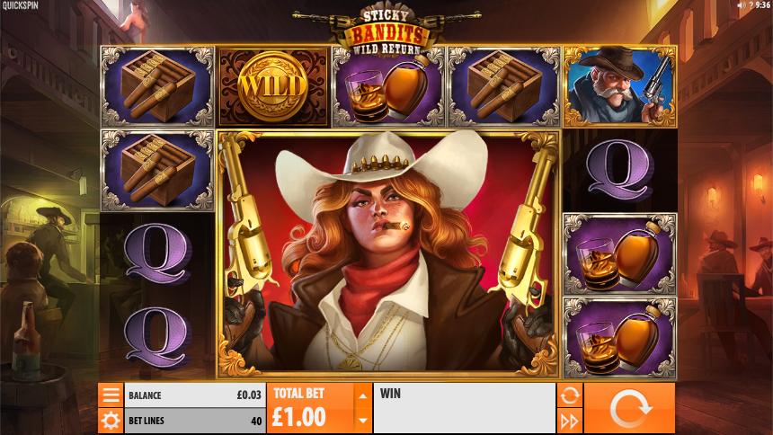 sticky bandits wild return screenshot
