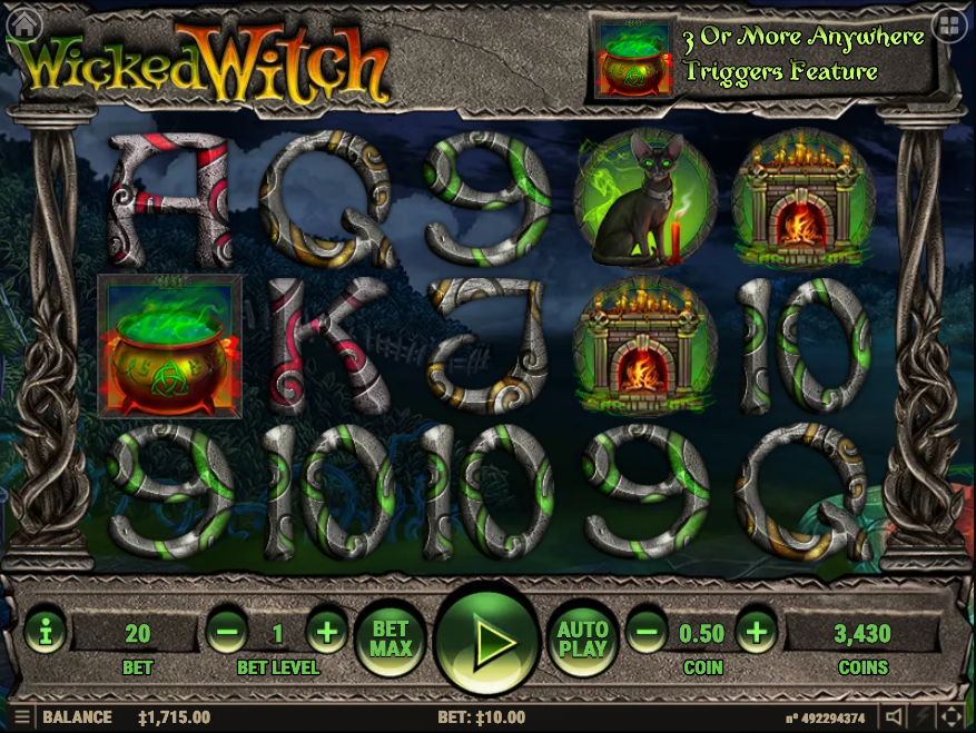 wicked witch screenshot