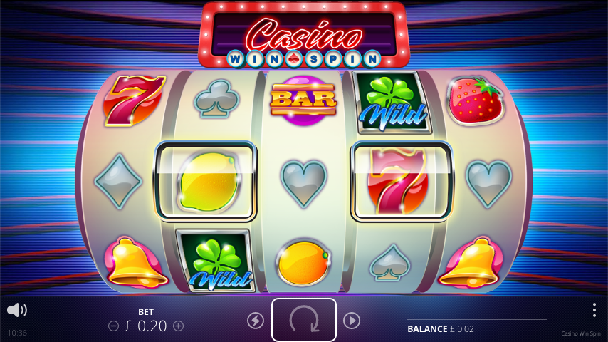 casino win spin screenshot