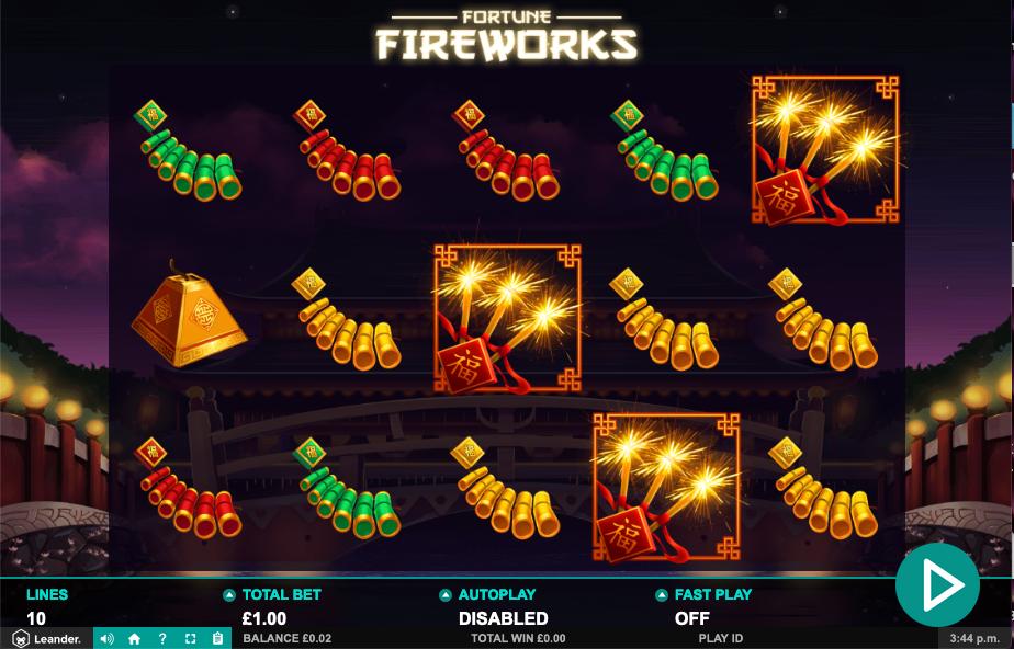 fortune fireworks screenshot