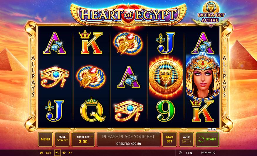 heart of egypt screenshot
