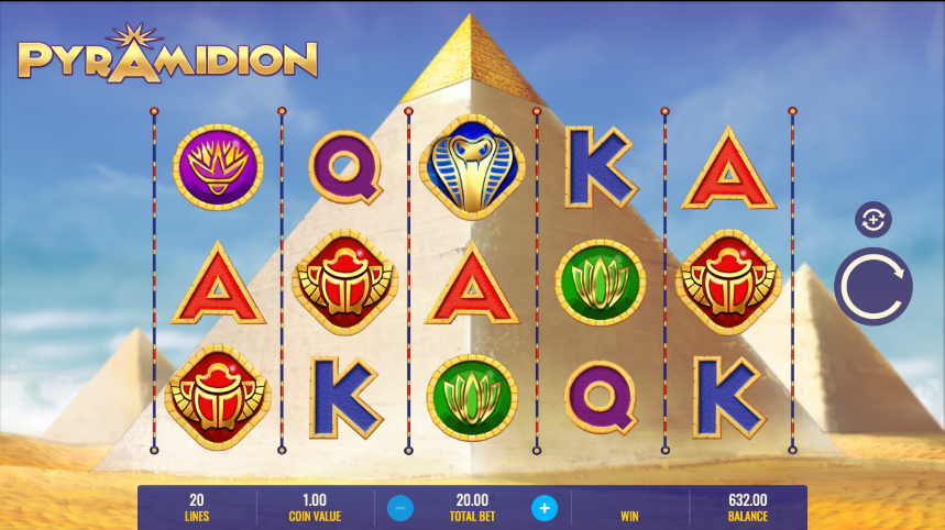 pyramidion screenshot