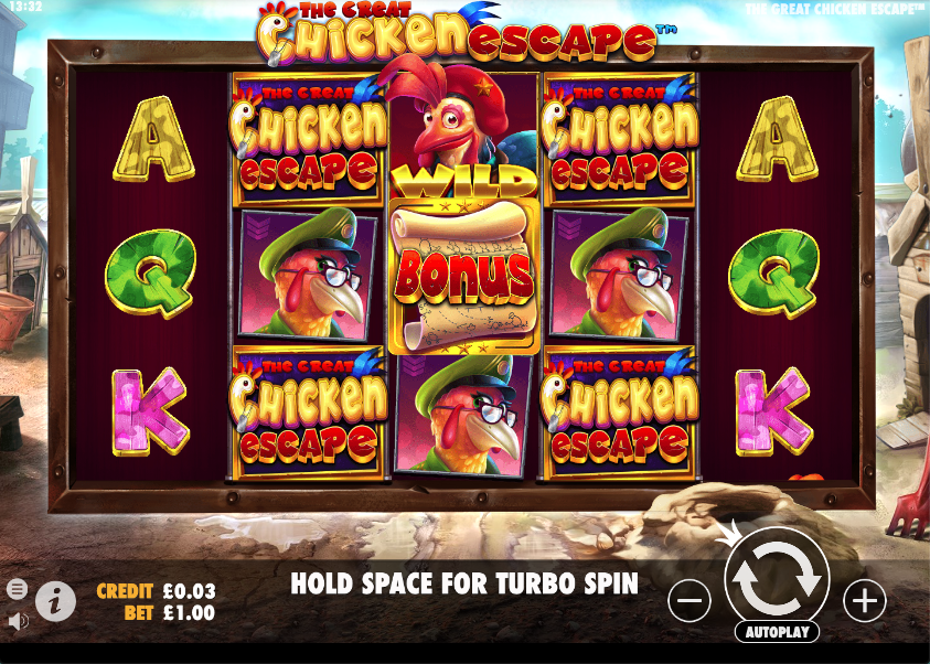 the great chicken escape screenshot