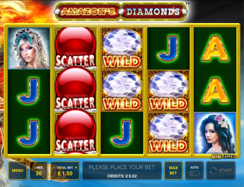amazons diamonds screenshot