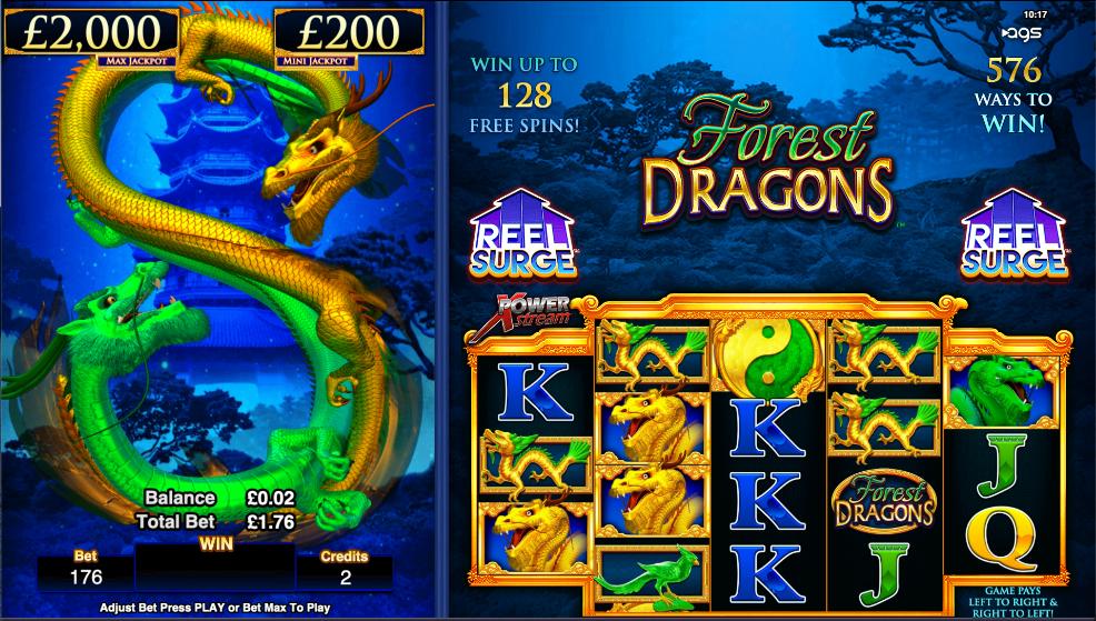 forest dragons screenshot
