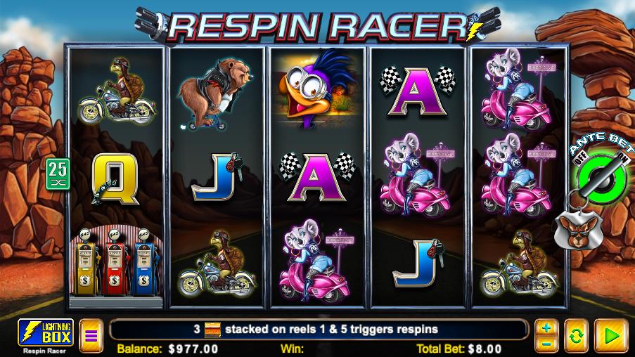 respin racer screenshot