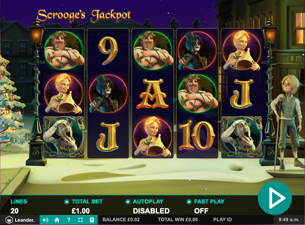 scrooges jackpot screenshot
