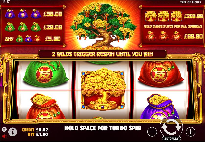 tree of riches screenshot