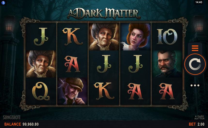 a dark matter screenshot