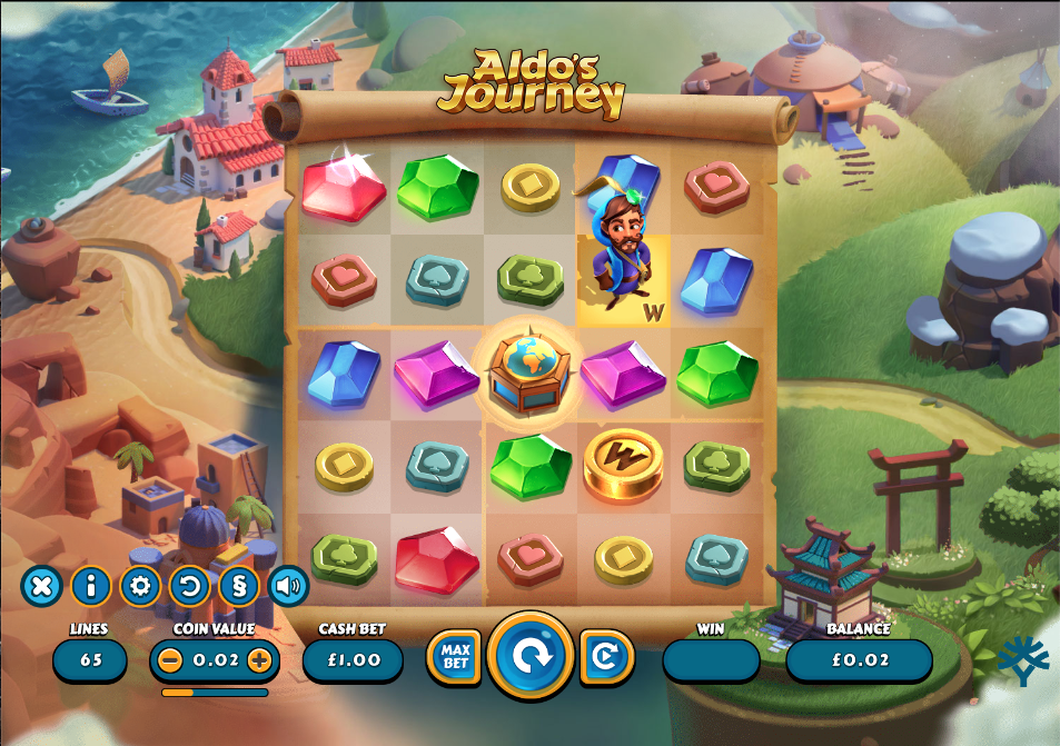 aldos journey screenshot