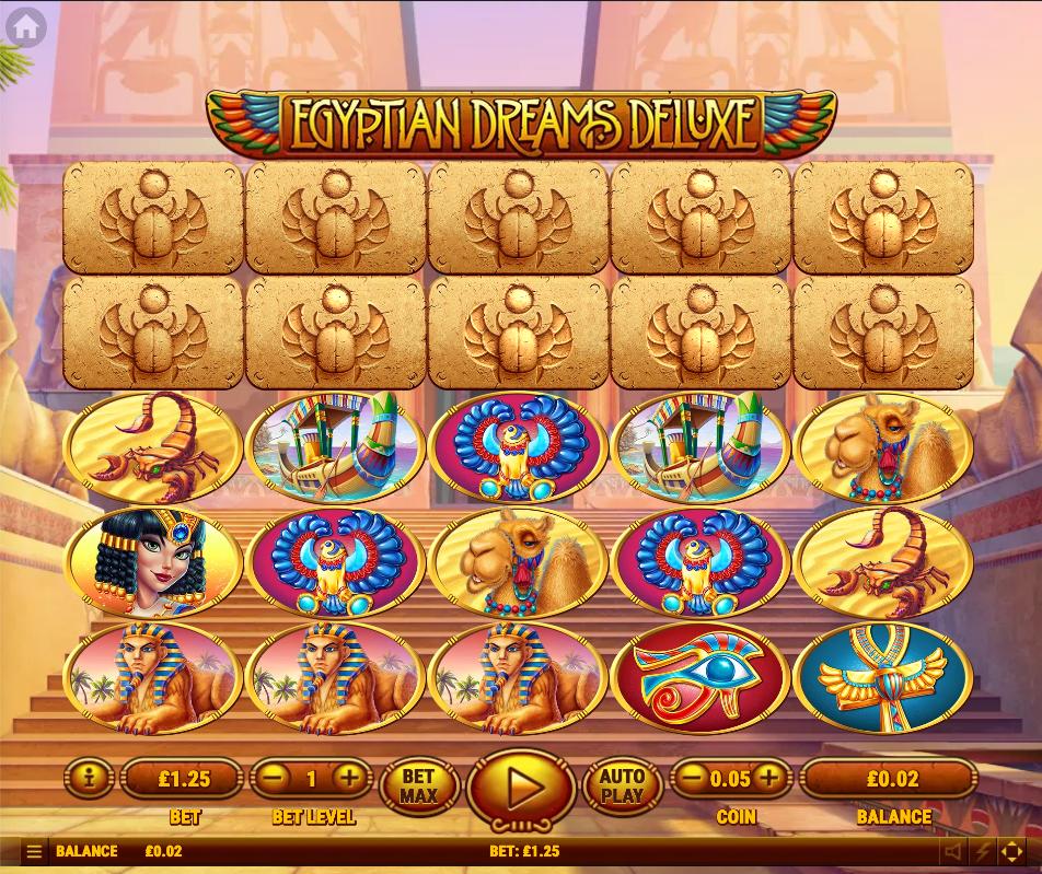 egyptian dreams deluxe screenshot