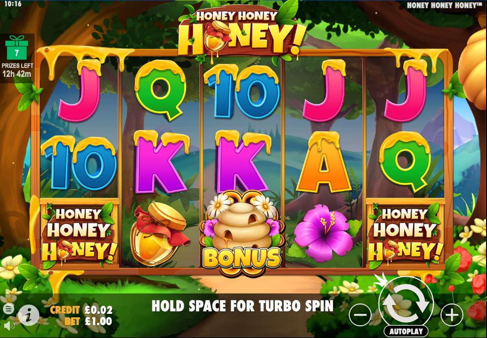 honey honey honey screenshot