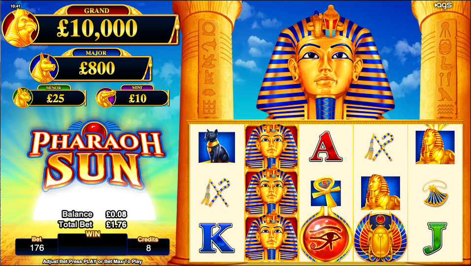 pharaoh sun screenshot