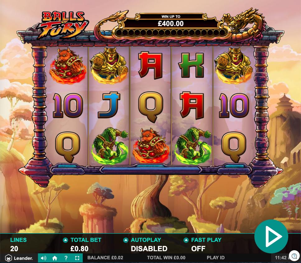 balls of fury screenshot