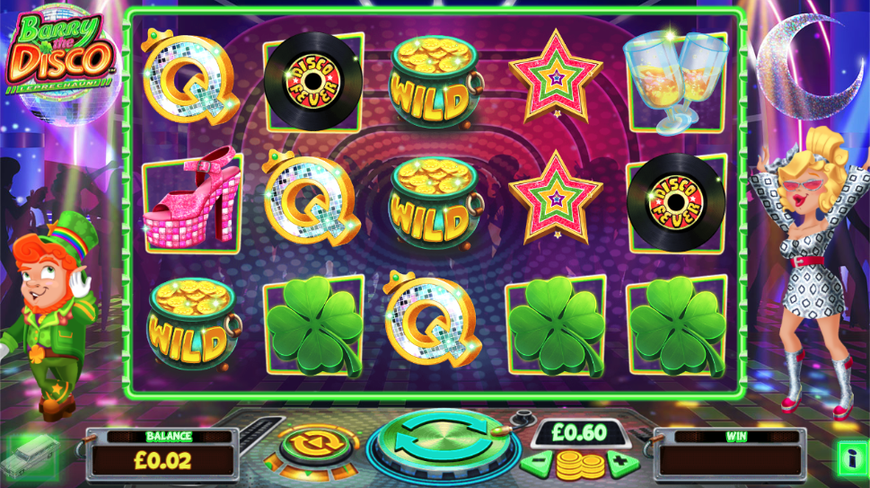 barry the disco leprechaun screenshot