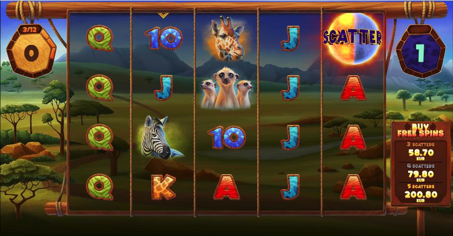 serengeti kings screenshot