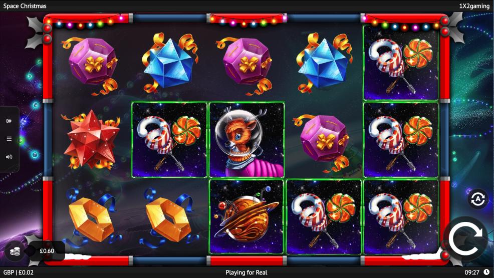 space christmas screenshot